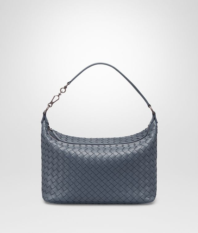 BOTTEGA VENETA SMALL SHOULDER BAG IN KRIM INTRECCIATO NAPPA LEATHER Shoulder or hobo bag D fp