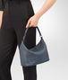 BOTTEGA VENETA SMALL SHOULDER BAG IN KRIM INTRECCIATO NAPPA Shoulder or hobo bag Woman lp