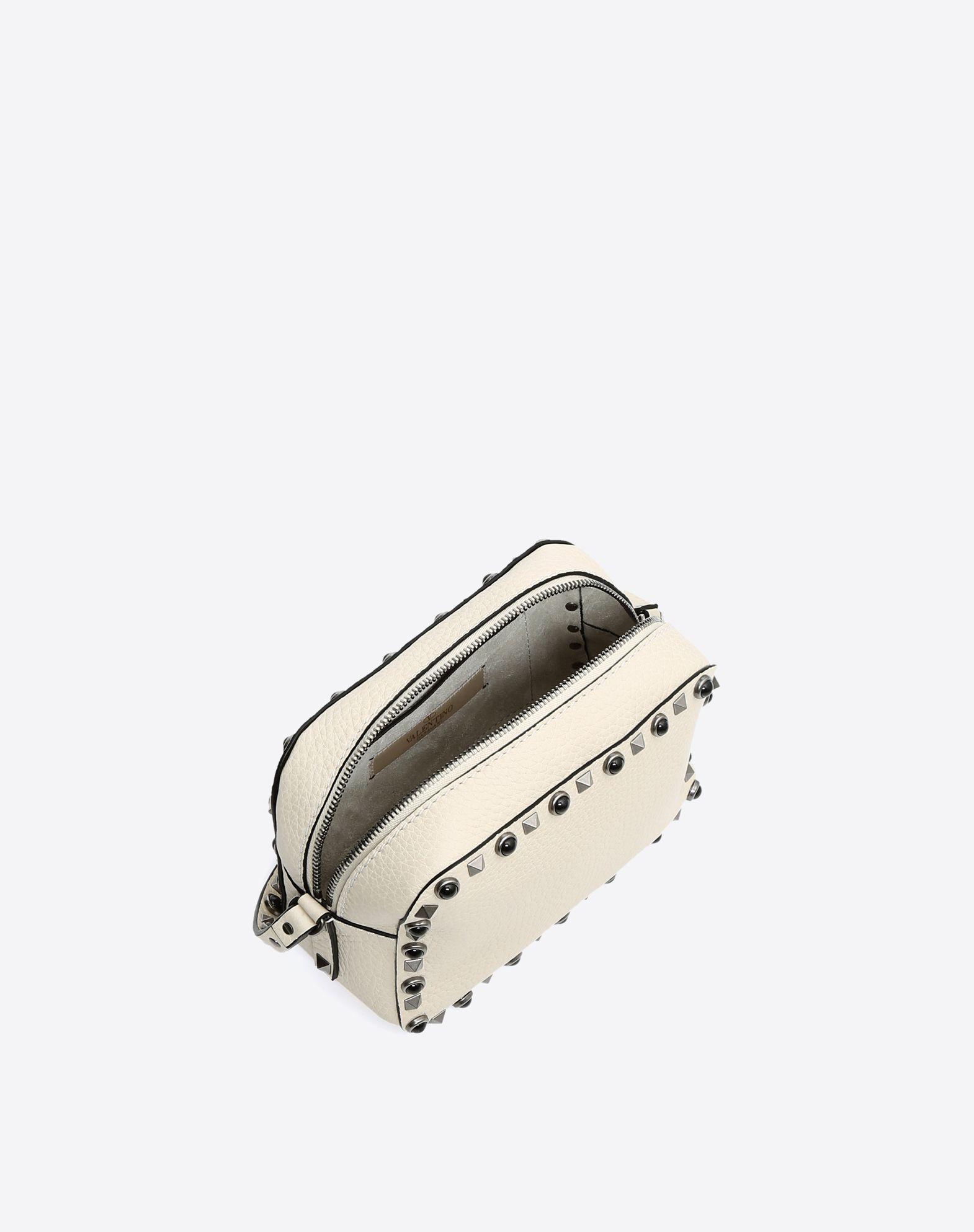 VALENTINO GARAVANI Rockstud Rolling Cross Body Bag CROSS BODY BAG D e
