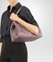 BOTTEGA VENETA MEDIUM TOTE BAG IN GLICINE INTRECCIATO NAPPA, EMBROIDERED DETAILS Tote Bag Woman ap