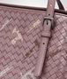 BOTTEGA VENETA MEDIUM TOTE BAG IN GLICINE INTRECCIATO NAPPA, EMBROIDERED DETAILS Tote Bag D ep