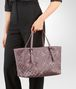 BOTTEGA VENETA MEDIUM TOTE BAG IN GLICINE INTRECCIATO NAPPA, EMBROIDERED DETAILS Tote Bag Woman lp