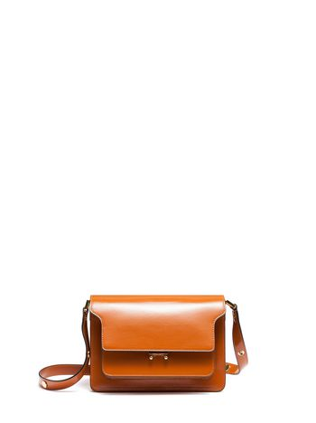 Marni TRUNK shoulder bag in calfskin Woman