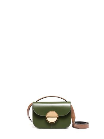 Marni TUK bag in calfskin green Woman
