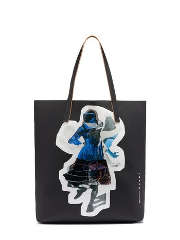 Marni SHOPPING bag Sally Smart black Woman