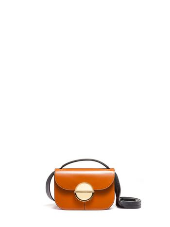 Marni TUK bag in calfskin brown Woman