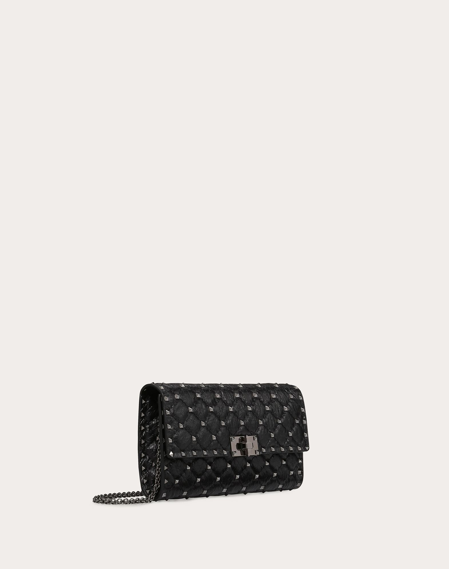 VALENTINO GARAVANI Rockstud Spike Chain Bag Shoulder bag D r