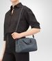 BOTTEGA VENETA MINI TOP HANDLE BAG IN KRIM INTRECCIATO NAPPA LEATHER Top Handle Bag Woman lp