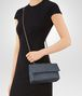 BOTTEGA VENETA BABY OLIMPIA BAG IN KRIM INTRECCIATO NAPPA Shoulder Bags Woman ap