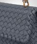 BOTTEGA VENETA BABY OLIMPIA BAG IN KRIM INTRECCIATO NAPPA Shoulder Bag Woman ep
