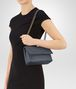 BOTTEGA VENETA BABY OLIMPIA BAG IN KRIM INTRECCIATO NAPPA Shoulder Bag Woman lp
