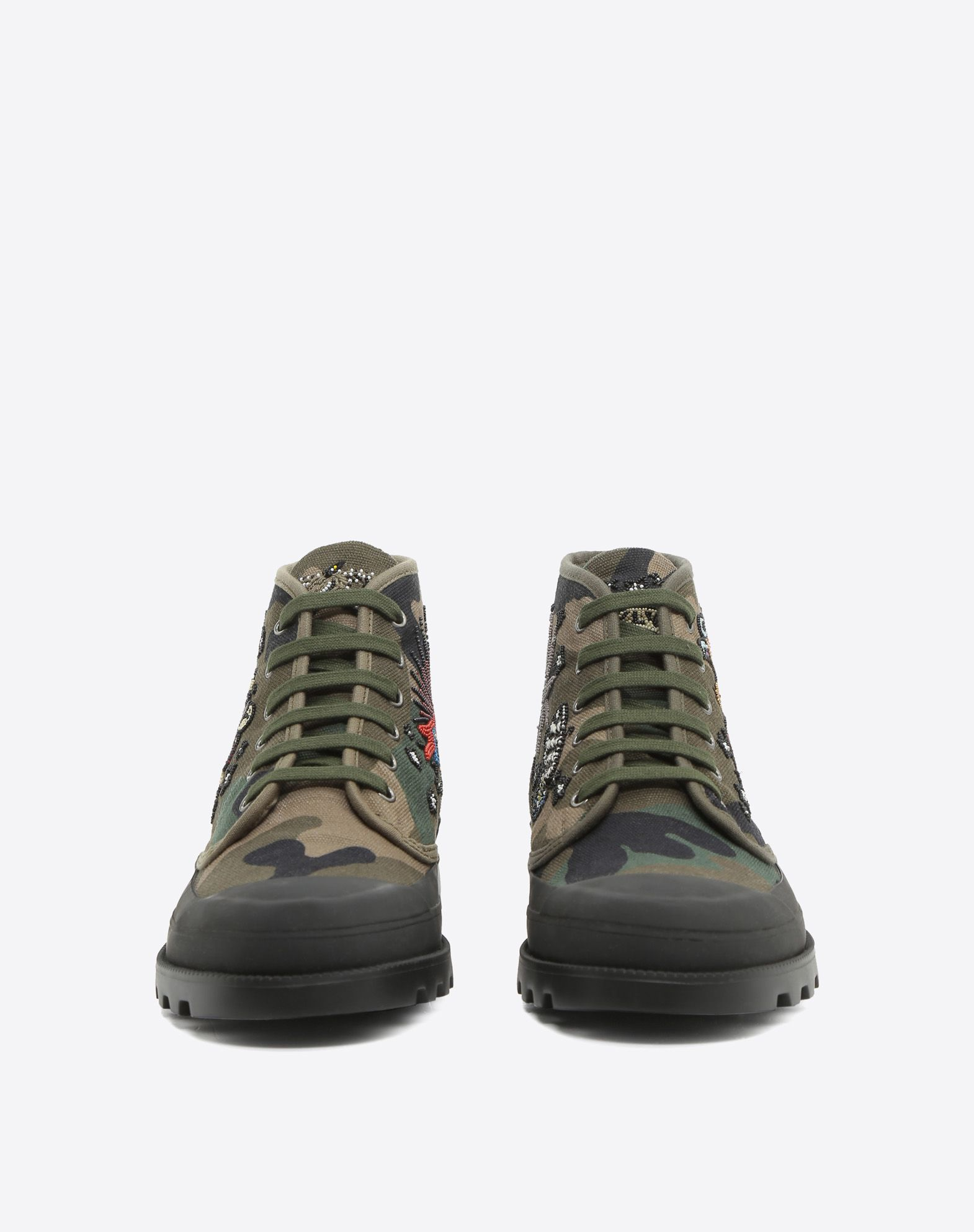 many kinds of Valentino Camouflage High-Top Sneakers w/ Tags cheap sale excellent 3YonRef8g