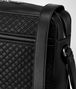 BOTTEGA VENETA MESSENGER BAG IN NERO EMBROIDERED CALF Messenger Bag Man ep