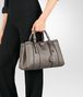 BOTTEGA VENETA SMALL ROMA BAG IN STEEL CALF Top Handle Bag D ap