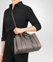BOTTEGA VENETA BORSA ROMA PICCOLA IN VITELLO INTRECCIATO STEEL Borsa a Mano D lp