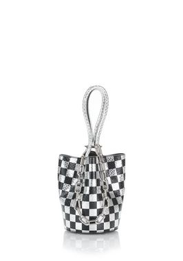 ROXY MINI BUCKET IN CHECKERBOARD ELAPHE