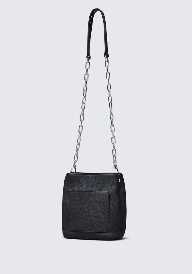 ALEXANDER WANG RIOT CROSS BODY BAG IN MATTE BLACK WITH RHODIUM Shoulder bag Adult 12_n_a