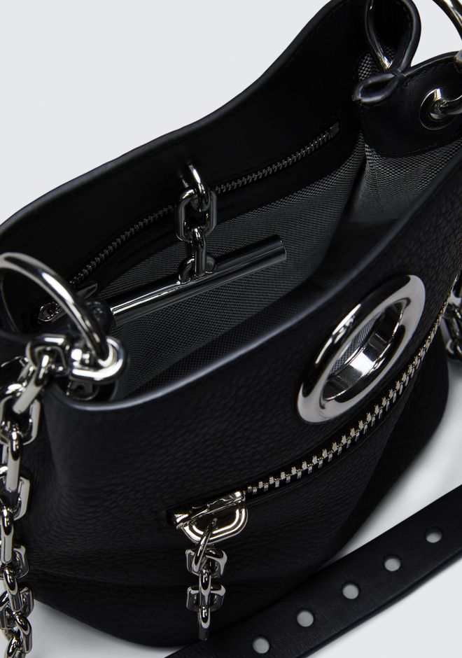 ALEXANDER WANG RIOT CROSS BODY BAG IN MATTE BLACK WITH RHODIUM Shoulder bag Adult 12_n_d