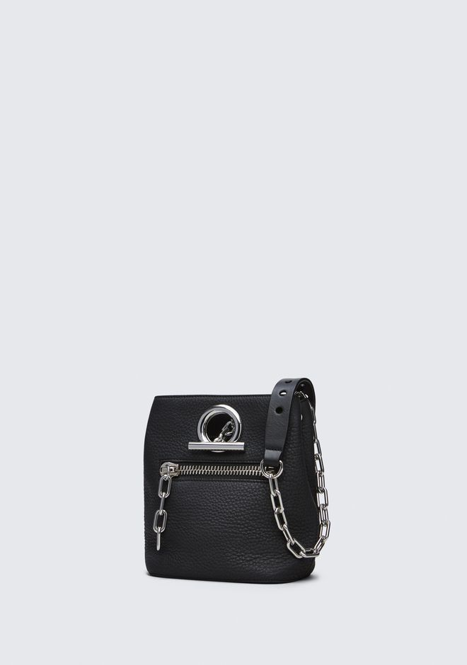 ALEXANDER WANG RIOT CROSS BODY BAG IN MATTE BLACK WITH RHODIUM Shoulder bag Adult 12_n_e