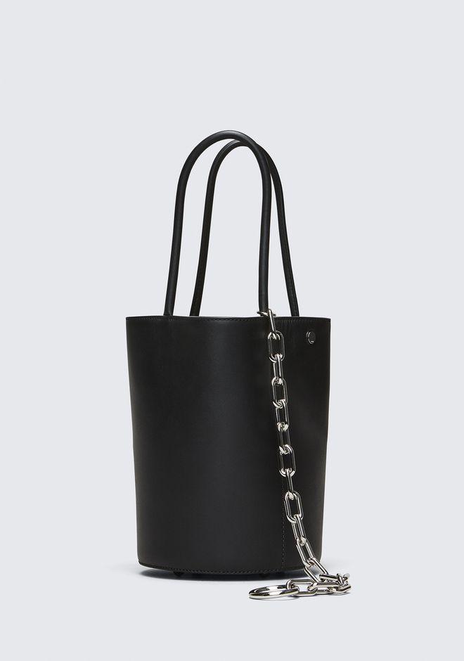 ALEXANDER WANG ROXY BUCKET BAG IN BLACK WITH RHODIUM  Shoulder bag Adult 12_n_d