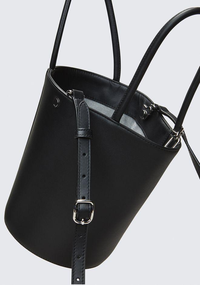 ALEXANDER WANG ROXY BUCKET BAG IN BLACK WITH RHODIUM  Shoulder bag Adult 12_n_e