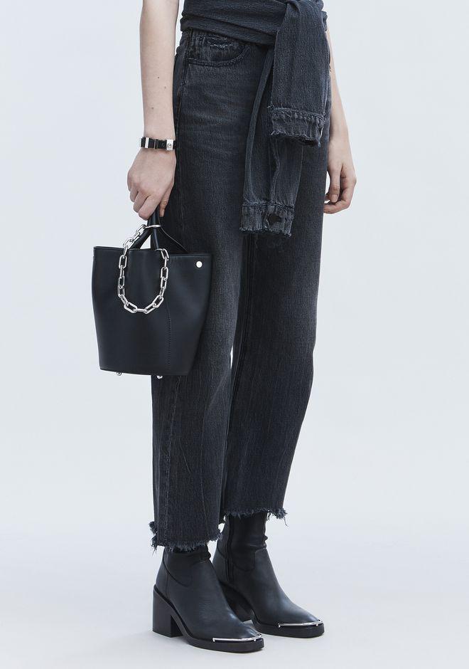ALEXANDER WANG ROXY BUCKET BAG IN BLACK WITH RHODIUM  Shoulder bag Adult 12_n_r
