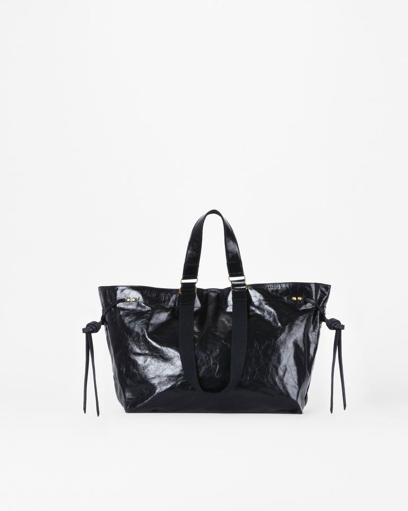 BAGYA cracked leather shopper bag ISABEL MARANT