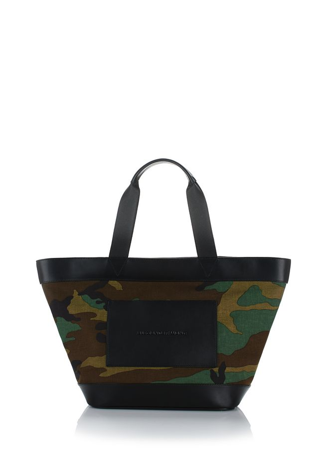 ALEXANDER WANG TOTES Women CAMO CANVAS TOTE