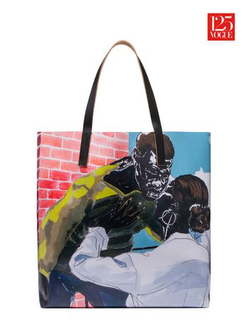 Marni Shopper in PVC print by Kerry James Marshall Woman