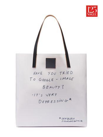 Marni Shopper in PVC print by Ragnar Kjartansson Woman