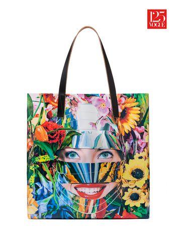 Marni Shopper in PVC print by Maurizio Cattelan - Pierpaolo Ferrari Woman