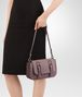 BOTTEGA VENETA SMALL DOPPIA BAG IN GLICINE INTRECCIATO NAPPA Shoulder Bag Woman ap