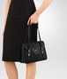 BOTTEGA VENETA MEZZALUNA BAG IN NERO INTRECCIATO NAPPA Top Handle Bag D ap