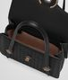 BOTTEGA VENETA MEZZALUNA BAG IN NERO INTRECCIATO NAPPA Top Handle Bag Woman dp