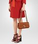BOTTEGA VENETA CALVADOS EMBROIDERED CALF OLIMPIA KNOT BAG Shoulder Bag Woman ap