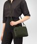 BOTTEGA VENETA MESSENGER BAG IN MOSS INTRECCIATO NAPPA LEATHER Crossbody bag D ap