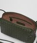 BOTTEGA VENETA MESSENGER BAG IN MOSS INTRECCIATO NAPPA LEATHER Crossbody bag D dp