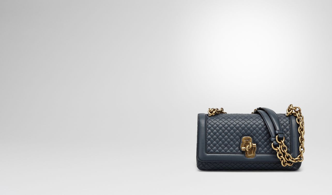 denim embroidered calf olimpia knot bag landing. BOTTEGA VENETA ... 8addbc71fef3a