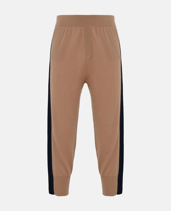 Fine Knit Camel Kami Trousers