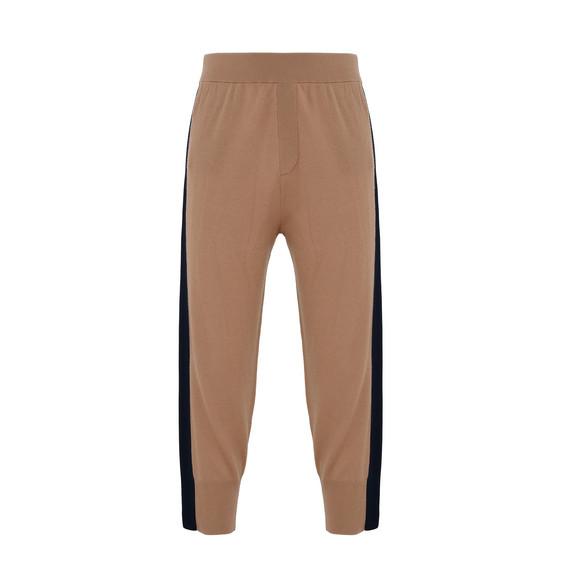 Fine Knit Camel Kami Trousers
