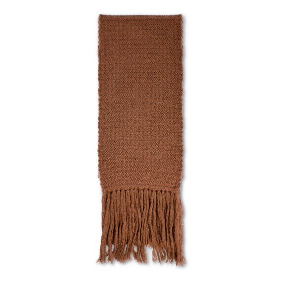 Toffee Knit Scarf