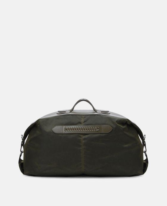 Green Nylon Falabella Bowling Bag