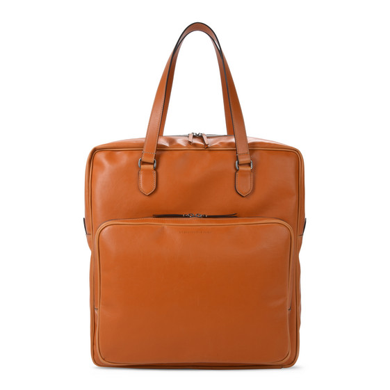 Tote Bag in Alter Nappa Color Miele