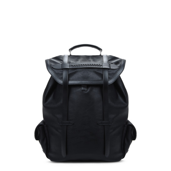 Black Alter Nappa Backpack