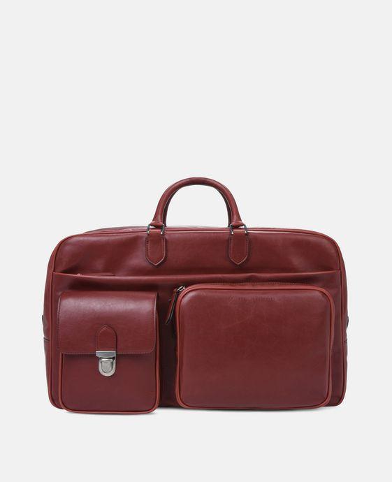 红色商务旅行包
