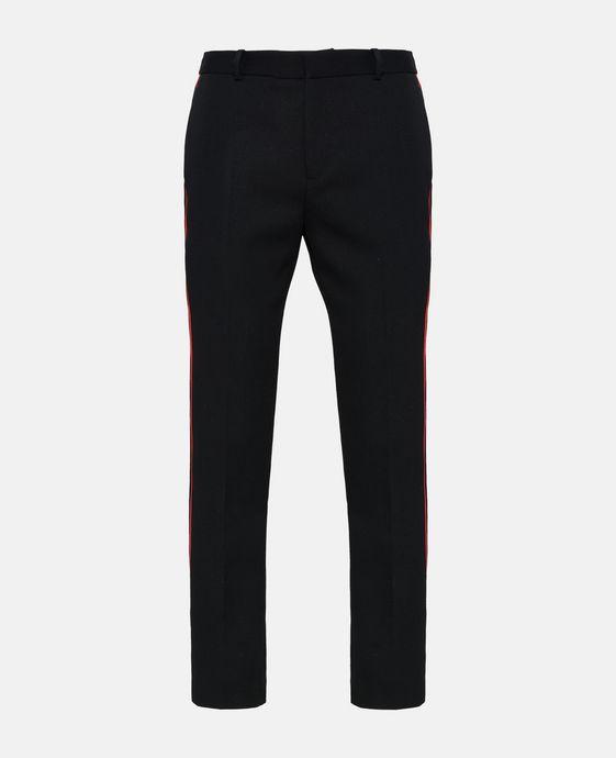 Pantalon ajusté Pax noir en laine