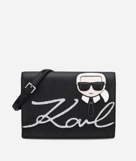 KARL LAGERFELD K/IKONIK SHOULDERBAG