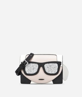 KARL LAGERFELD K/IKONIK MINI CROSSBODY
