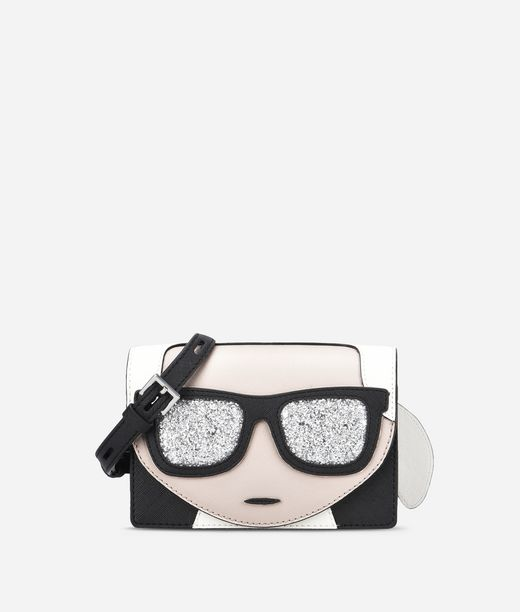 KARL LAGERFELD K/Ikonik Mini Crossbody 12_f