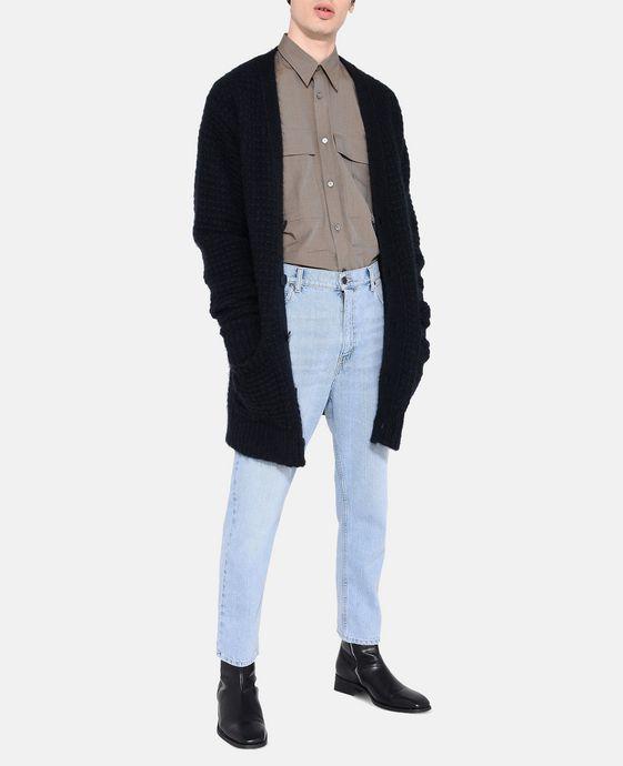 STELLA McCARTNEY MEN Bleached Denzel Carrot Jeans Men Tapered U h
